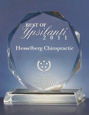 Chiropractic Ypsilanti MI Best of Ypsilanti 2011