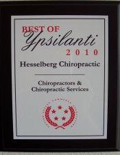 Chiropractic Ypsilanti MI Best of Ypsilanti 2010